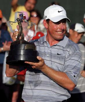 Justin Leonard: Three-time Texas Open winner (2000, 2001 and 2007) also won the Open Championship in 1997. Photo: John Davenport, San Antonio Express-News / SAN ANTONIO EXPRESS-NEWS