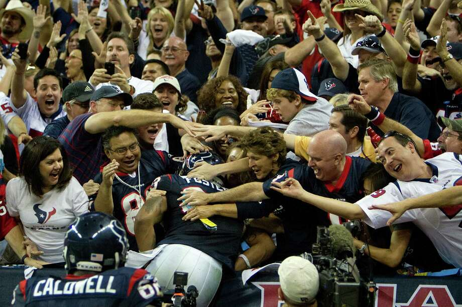 It's no leap of faith by running back Arian Foster or anyone else to suggest the Texans' 2012 season is the most anticipated one yet. The players arrive today, with training camp starting Saturday. Photo: Smiley N. Pool / © 2012  Houston Chronicle