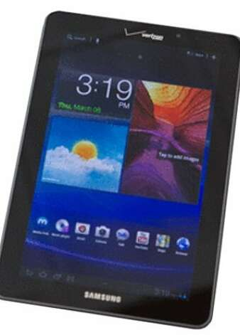 Samsung Galaxy Tab 7.7 Photo: Cnet Review