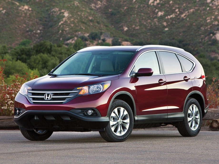 2012 Honda CR-V EX-L AWD (photo courtesy Honda) Photo: Honda / © 2011 American Honda Motor Co., Inc.
