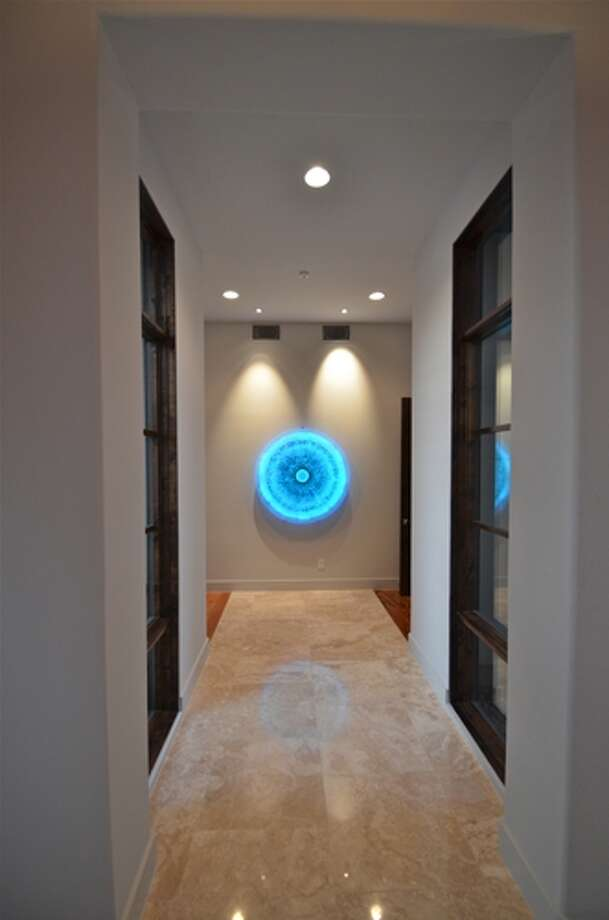 "Ansen Seale's ""Vortex"" is part of the Parade of Homes exhibit at Bismarck Studios in Stone Oak. Photo: Melody C. Mendoza / For North Central News"