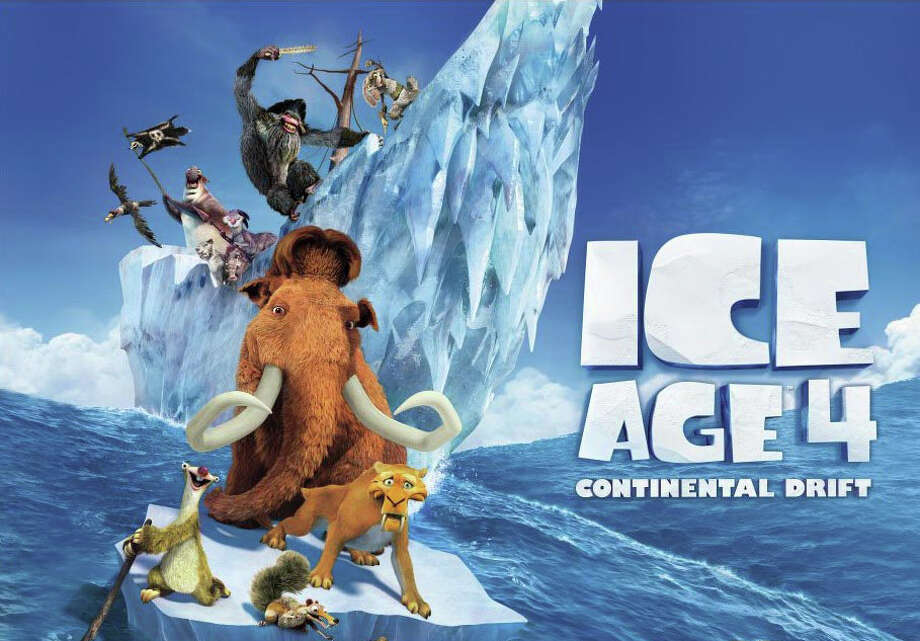"""Ice Age: Continental Drift"" is the fourth in the series of animated comedy movies. Photo: Contributed Photo / Westport News contributed"
