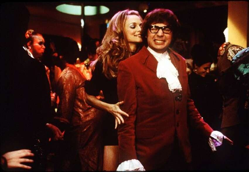 Austin Powers: International Man of Mystery (1997)   Austin Powers: The Spy Who Shagged Me (1999) Available on Netflix May 1 A 1960s secret agent is brought out of cryofreeze to oppose his greatest enemy in the 1990s, where his social attitudes are glaringly out of place.