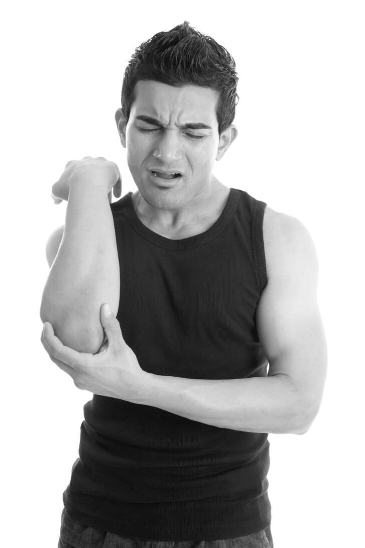 Tennis elbow can be a pain. (Fotolia.com)