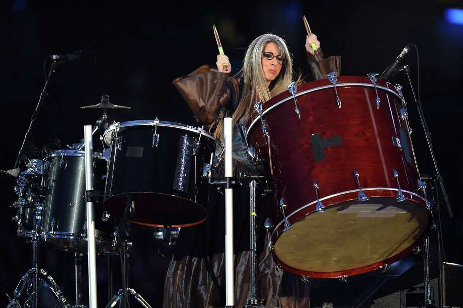 Percussionist Dame Evelyn Glennie performs during the Opening Ceremony of the London 2012 Olympic Games at the Olympic Stadium on July 27, 2012 in London, England. Photo: Getty Images