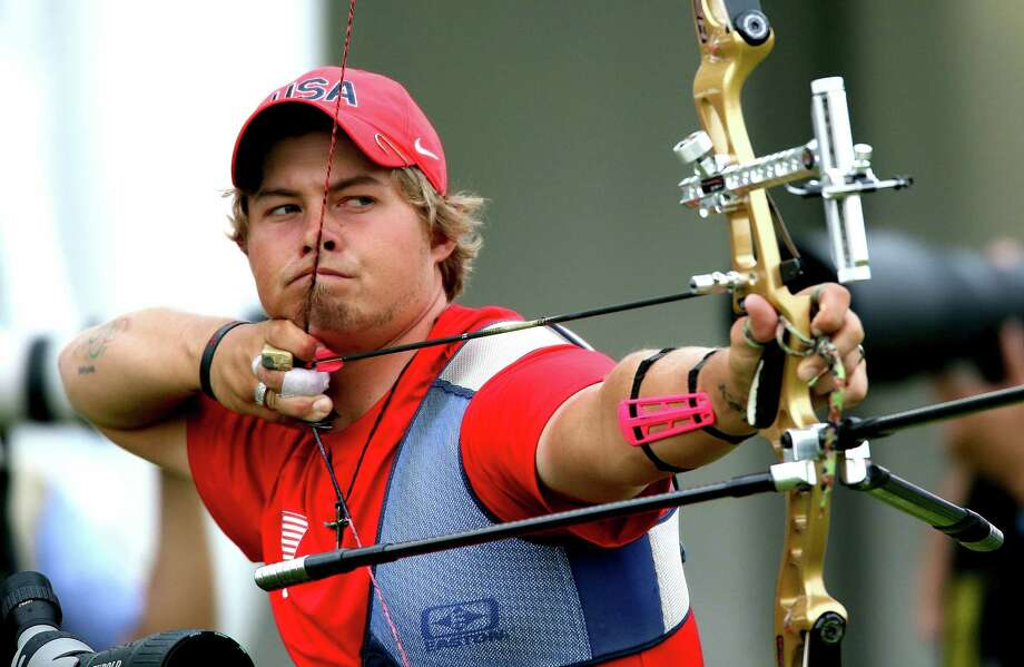 Brady Ellison is the top-ranked men's archer in the world, and it's not a stretch to say that he could provide the United States with its first Olympic medal in the sport since 2000. Photo: Doug Mills, New York Times / NYTNS