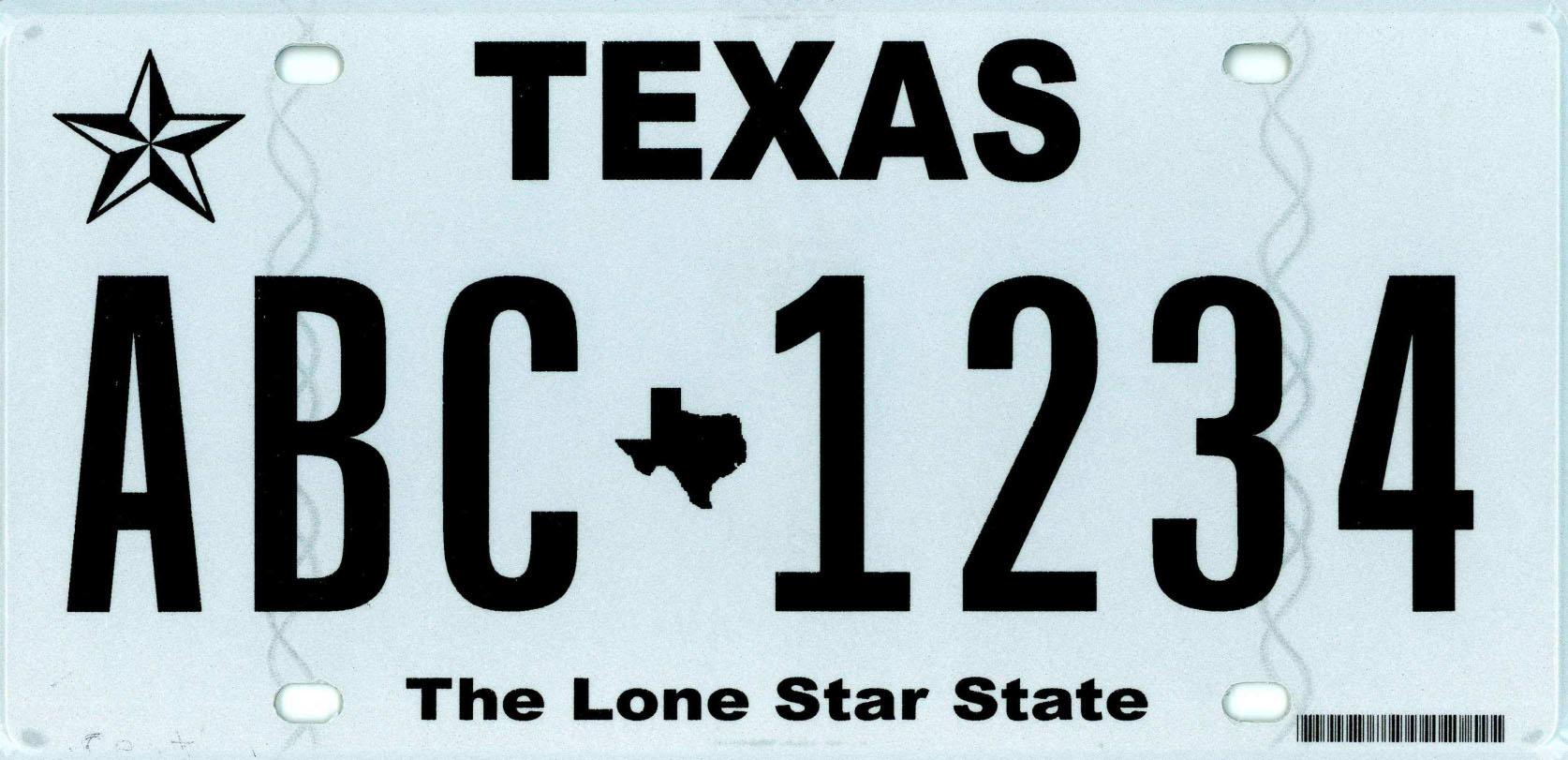 Editorial: Strong, silent Texas license plates - Houston ...