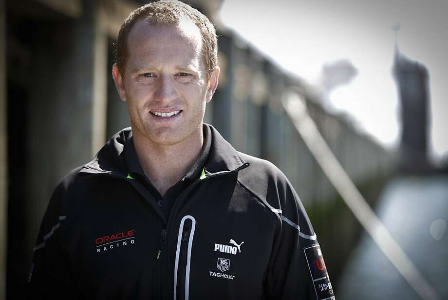 Jimmy Spithill, skipper of Team Oracle USA, is seen at pier 80 in San Francisco, Calif., on Wednesday, May 9, 2012. Photo: Russell Yip, The Chronicle