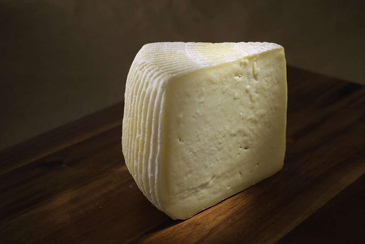 Weirauch Farm Tomme Fraiche cheese as seen in San Francisco, California, Wednesday, July 25, 2012.