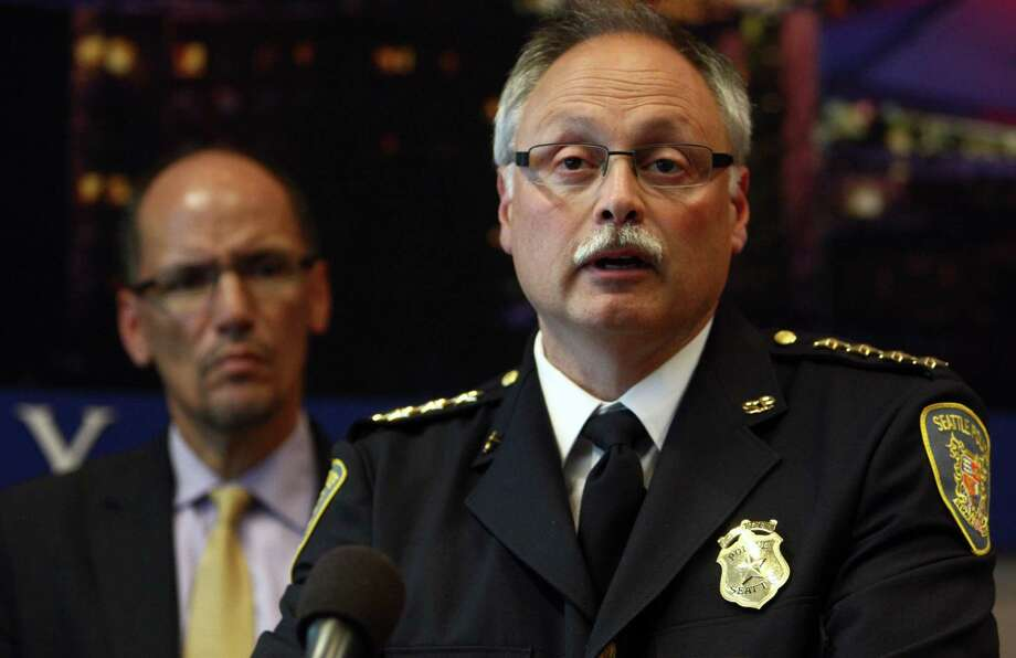 Seattle Police Chief John Diaz, shown here in 2012, has been head of the department since his interim chief appointment in March 2009. Photo: JOSHUA TRUJILLO / SEATTLEPI.COM