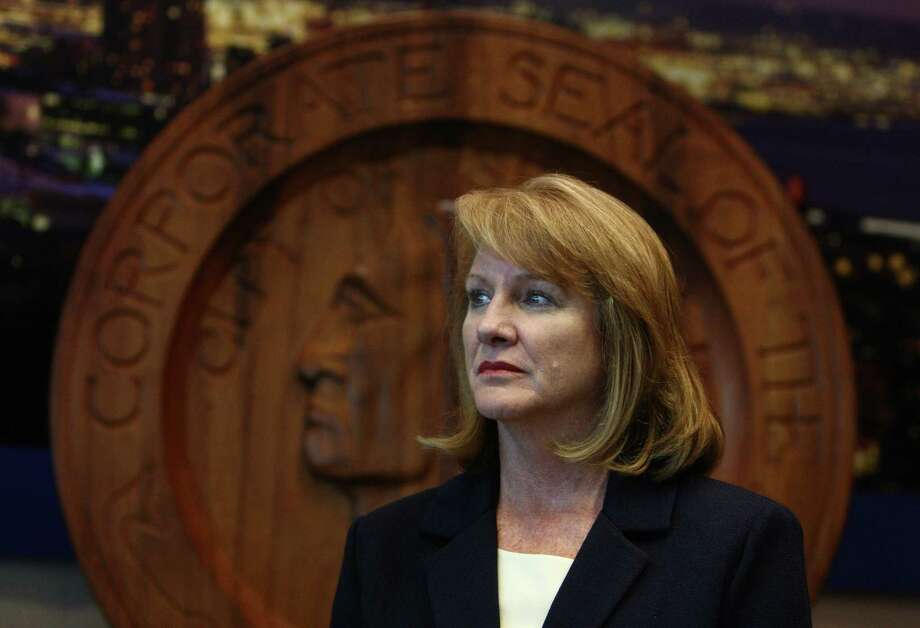 Jenny Durkan, U.S. Attorney for Seattle, participants in a press conference as the City of Seattle and U.S. Department of Justice announce an agreement on police reforms on Friday, July 27, 2012. Officials agreed to an independent monitor and court oversight of the city's police department as part of the agreement. Photo: JOSHUA TRUJILLO / SEATTLEPI.COM