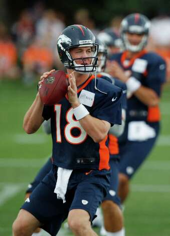 Denver Broncos quarterbacks Peyton Manning. Photo: AP