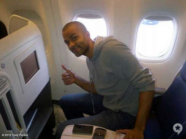 Tony Parker shared the news with his Facebook and Twitter followers early on the morning of July 6, 2012: He was cleared by Spurs-approved doctors to play for the French national team in the Summer Olympics. (Courtesy photo)