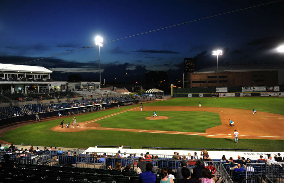 The Bridgeport Bluefish will play their first home game of the 2013 season Friday night at the Ballpark at Harbor Yard. Many of the Bluefish have spent time in the Major Leagues. Scroll through to see where this year's players have played before. Photo: Christian Abraham / Connecticut Post