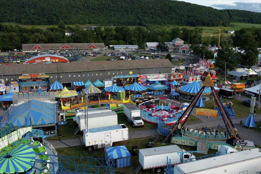 The Schoharie County Fair on opening day, Friday July 27, 2012 in Cobleskill, N.Y. (Dan Little/ Spec