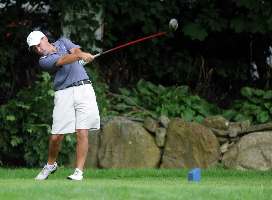 George Batton plays in the 2012 Stamford Amateur Golf Championship at E.G. Brennan golf course on Saturday, July 28, 2012. Photo: Lindsay Niegelberg / Stamford Advocate