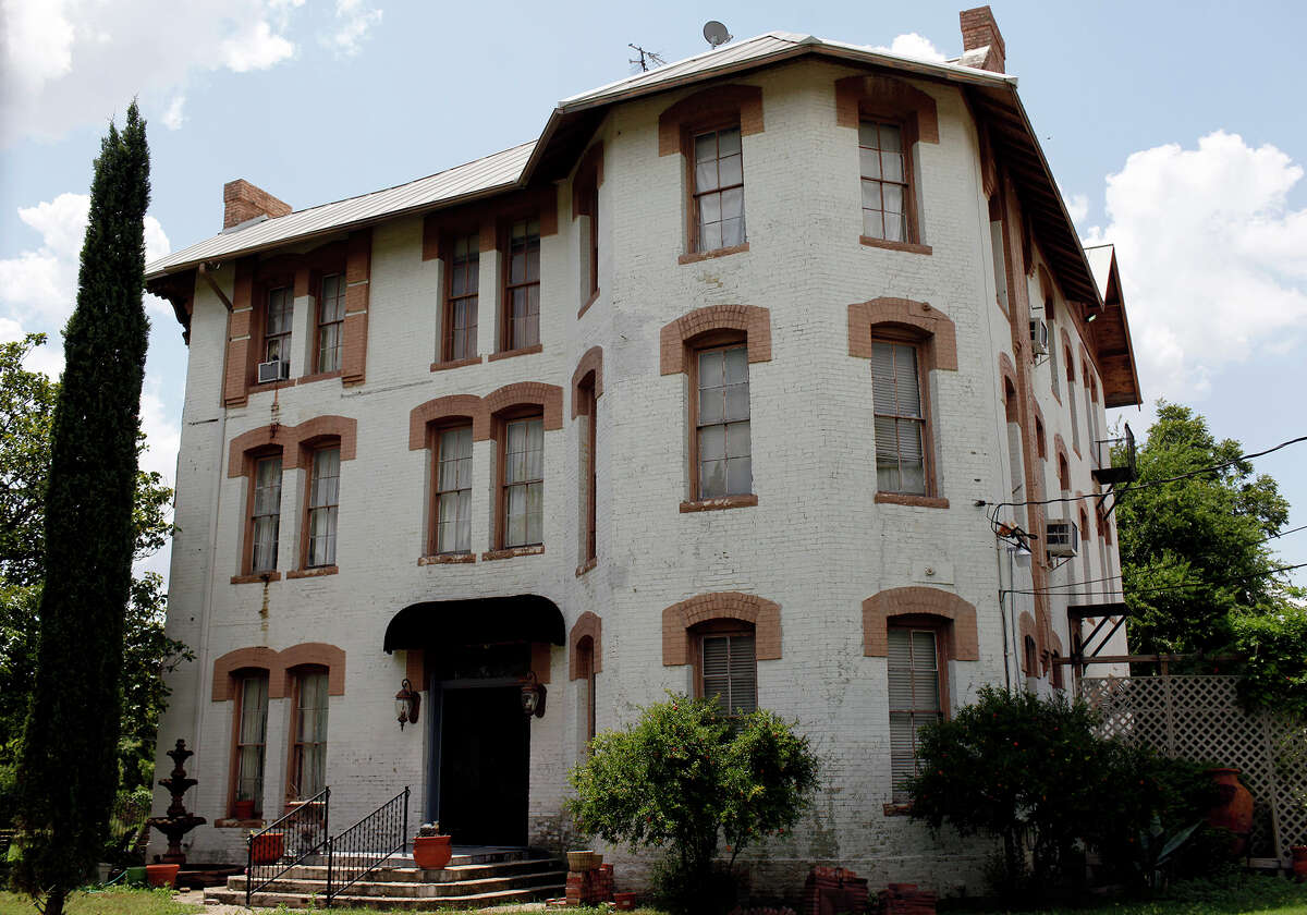 The historic Protestant Home for Destitute Children, now residential apartments, in San Antonio on Friday, July 13, 2012.