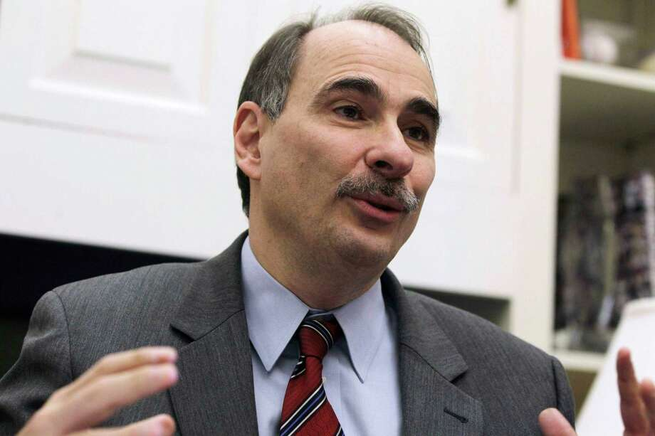 FILE - This Jan. 28, 2011, file photo shows David Axelrod, outgoing senior White House adviser to President Barack Obama, during an interview with the Associated Press at the White House. Axelrod, who is a former political reporter for The Chicago Tribune, has known the president since the early 1990s and was a driving force behind Obama's message of change during the 2008 campaign. He is a calming influence on the Obama 2012 campaign team and has helped focus on middle-class voters. Photo: AP