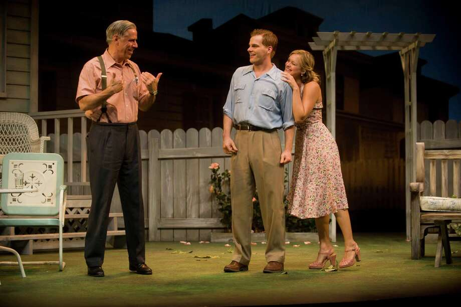 All My Sons By Arthur Miller Directed by Julianne Boyd With Jeff McCarthy as Joe Keller & Lizbeth Mackay as Kate Keller Barrington Stage Company 2012 (Kevin Sprague) Photo: Kevin Sprague / ©Kevin Sprague. All rights reserved