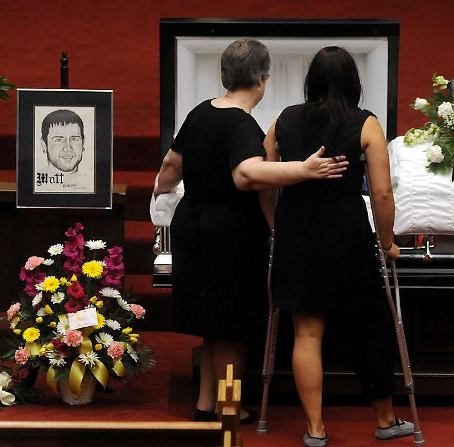 Shooting Massacre At Dark Knight Rises Screening: Funerals For Aurora Victims McQuinn, Ghawi