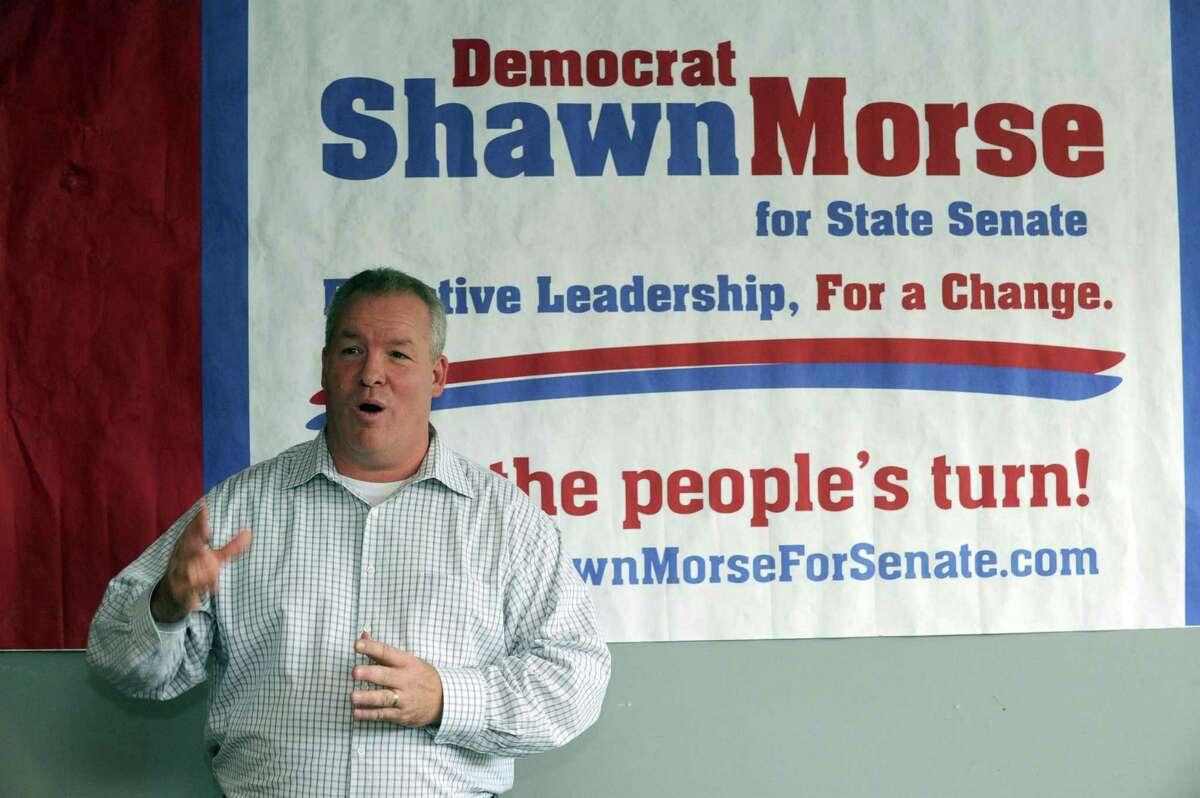 Democrat Shawn Morse, Saturday July 28, 2012. (Michael P. Farrell/Times Union archive)
