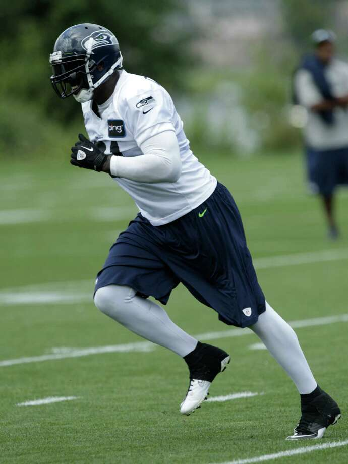 Seahawks' Chris Clemons is shown. Photo: AP