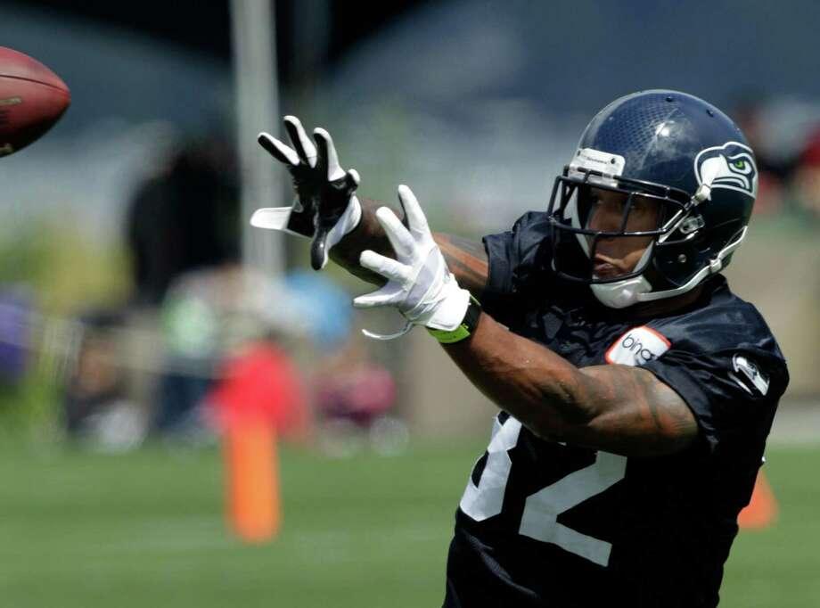 Seahawks wide receiver Kellen Winslow makes a catch. Photo: AP