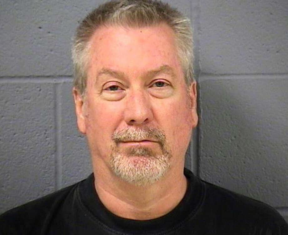 FILE - In this May 7, 2009 file booking photo provided by the Will County Sheriff's office in Joliet, Ill., former Bolingbrook, Ill., police sergeant Drew Peterson is shown. Opening statements are slated for Tuesday, July 31, 2012, in the much-anticipated trial of the 58-year-old Peterson, who was charged with the 2004 murder of his 40-year-old fourth wife, Kathleen Savio, only after his 23-year-old fourth wife, Stacy Peterson, vanished without a trace in 2007. The trial's focus is determining if Peterson killed Kathleen Savio. Drew Peterson has never been charged in the disappearance or death of Stacy Peterson, whose body has never been found.  But her family hopes a conviction at the current murder trial could eventually lead to a trial for Peterson in Stacy's death. Photo: AP
