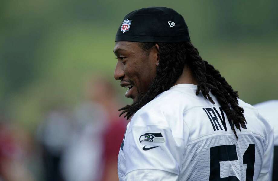 Seahawks' Bruce Irvin is shown. Photo: AP