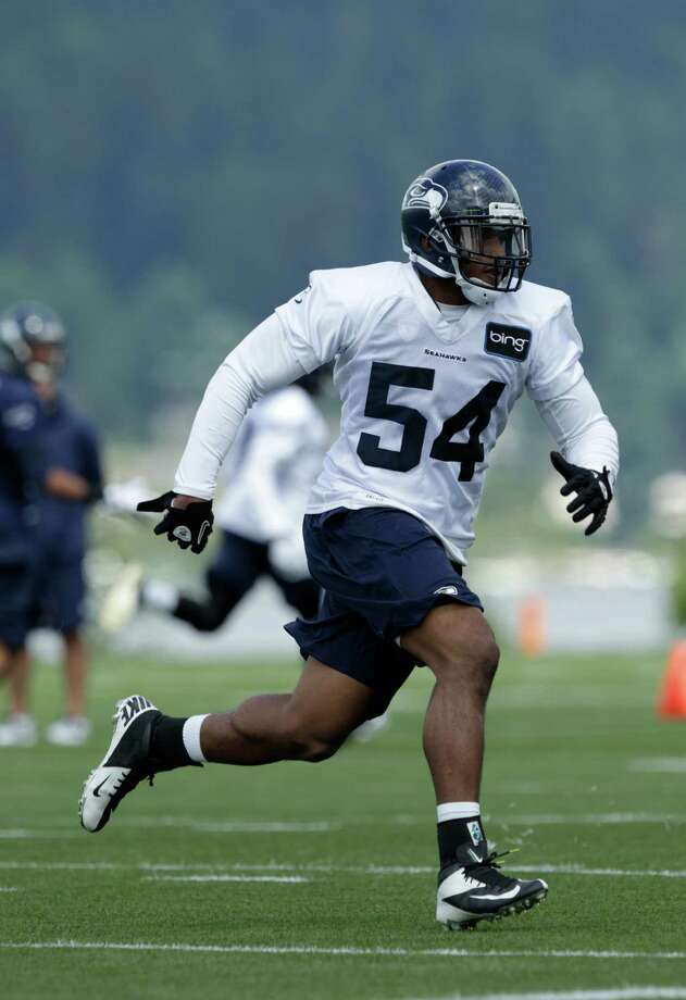 Seahawks rookie linebacker Bobby Wagner runs. Photo: AP