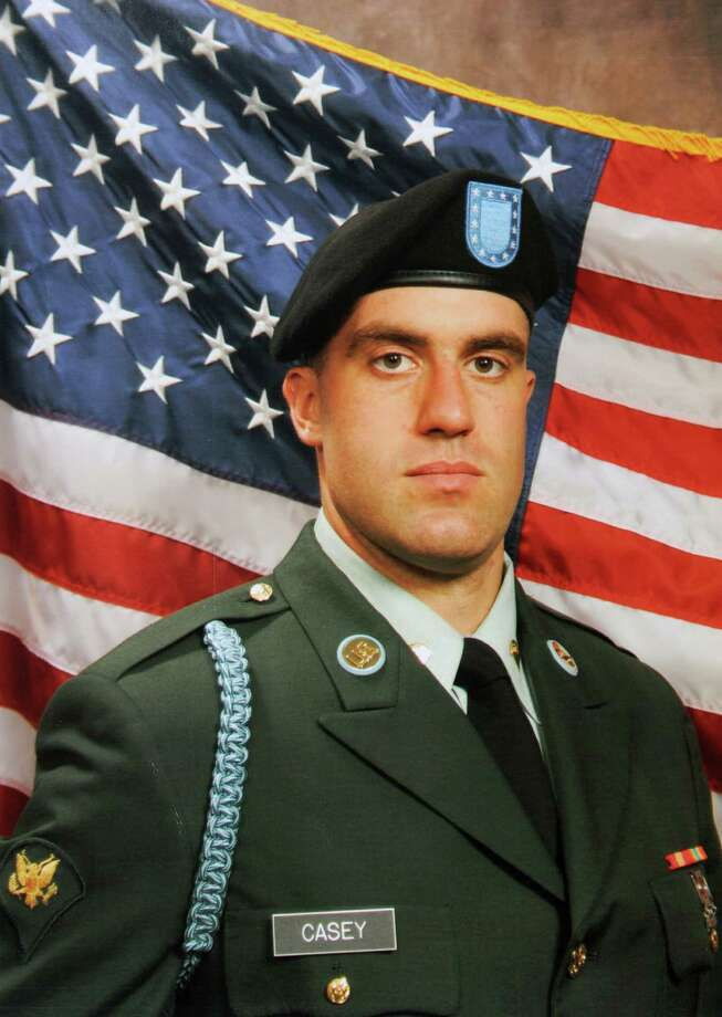 Paul and Gail Casey's son Patrick, a U.S. Army veteran who served a tour in Afghanistan, died outside of a McDonald's in Washington, D.C. last September after an altercation, and police there didn't charge anyone. He is shown in a photograph from December 2006 after he completed basic training. (Photograph provided courtesy of the Casey family to the Times Union) Photo: Photograph Courtesy Of Casey Fam / 00018602A