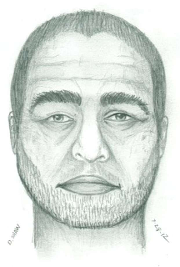 This sketch of the suspect was created by a Bellevue Police Department sketch artist.