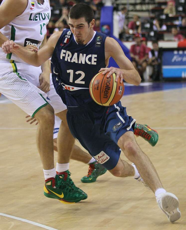 NANDO DE COLO, France: One of the players who will need to contribute if Parker, Diaw and Batum are to lead France to the medal stand. (Darko Vojinovic / Associated Press)