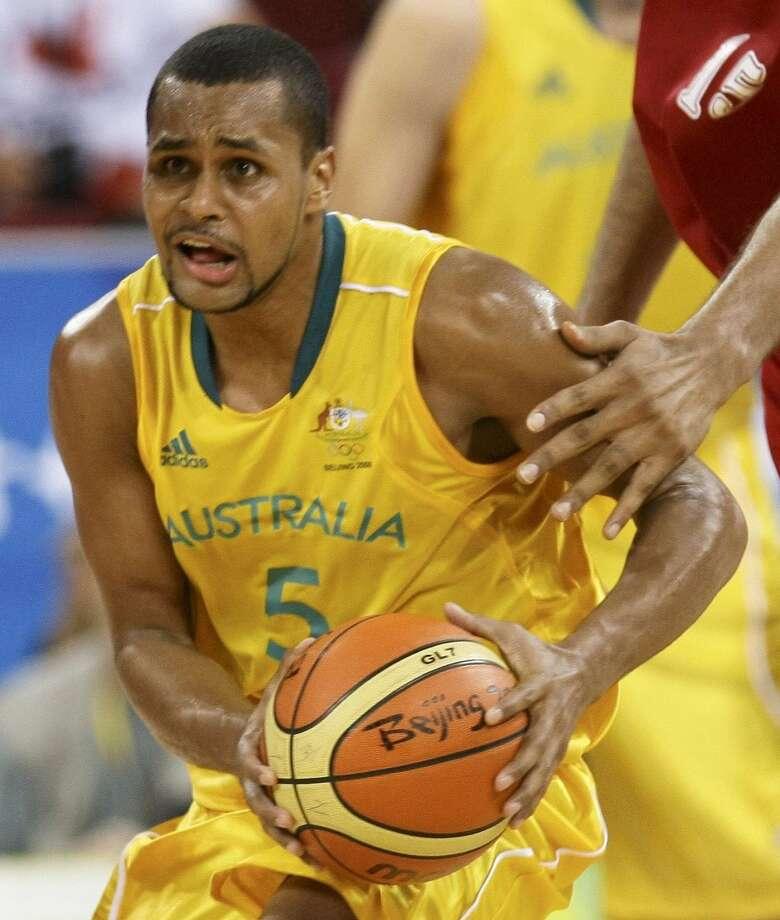 PATTY MILLS, Australia: With Bucks center Andrew Bogut eliminated from the Boomers' squad for London by an injury, Australia's goal is to be one of the four teams advancing from preliminary play in Group B, which features strong competition from Spain, Brazil, China and Russia. (Marcelo Del Pozo / Reuters)