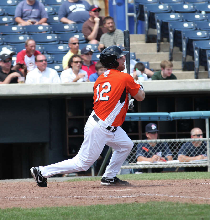 Lew Ford is a Port Neches-Groves graduate now playing for the Norfolk Tides, the Triple-A team of the Baltimore Orioles. Ford last played in the major leagues in 2007 but has since played in Japan, Mexico and independent leagues to extend his career. Photo: Elaina Ellis/Norfolk Tides