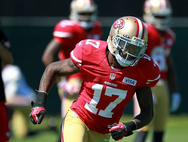 San Francisco 49ers rookie wide receiver A. J. Jenkins works of drills during practice at the 49ers camp, Sunday July 29, 2012 at camp in Santa Clara, Calif. Photo: Lacy Atkins, The Chronicle