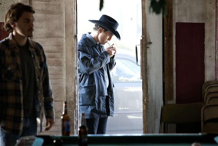 "Emile Hirsch, left, and Matthew McConaughey star in William Friedkin's ""Killer Joe."" Photo: Ld Entertainment, New York Times"
