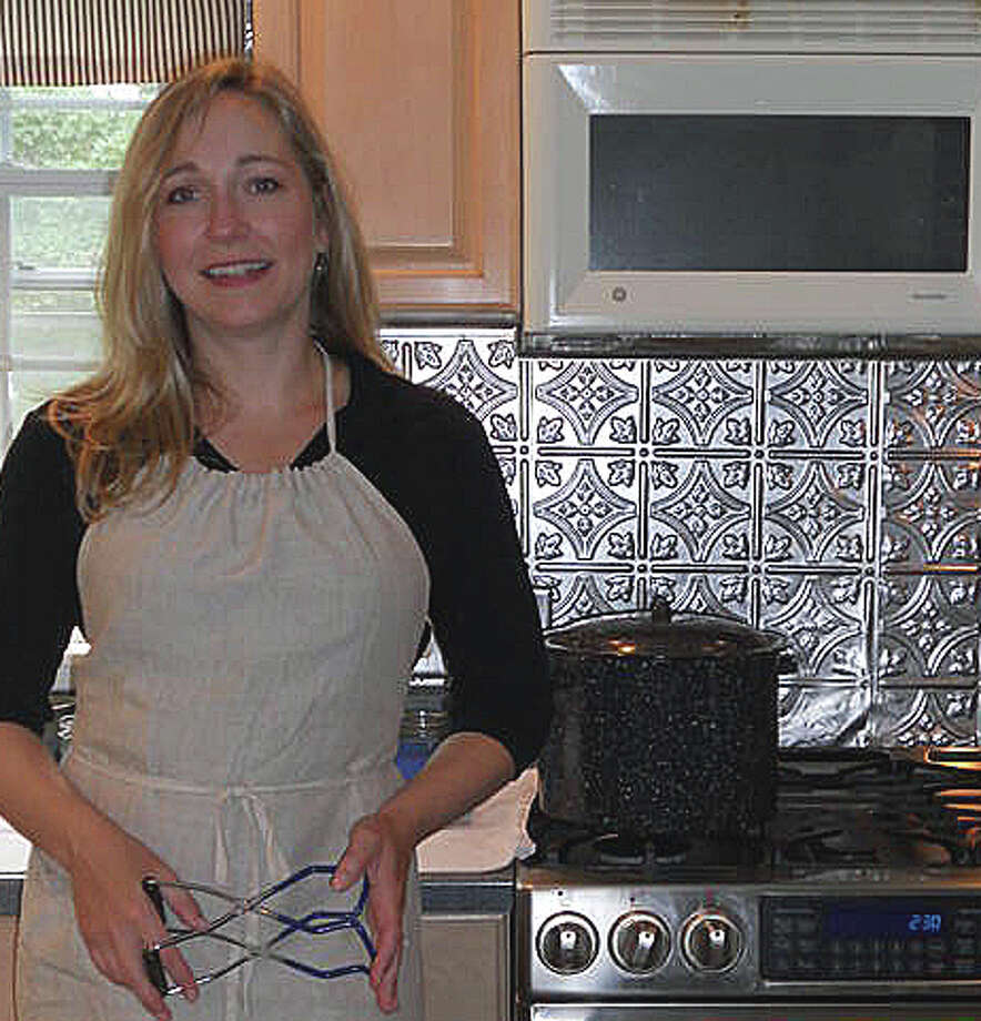 Sherri Brooks Vinton is the author of ìPut ëEm Up: A Comprehensive Home Preserving Guide for the Creative Cook from Drying and Freezing to Canning and Pickling.î Photo: Patti Woods / Fairfield Citizen contributed