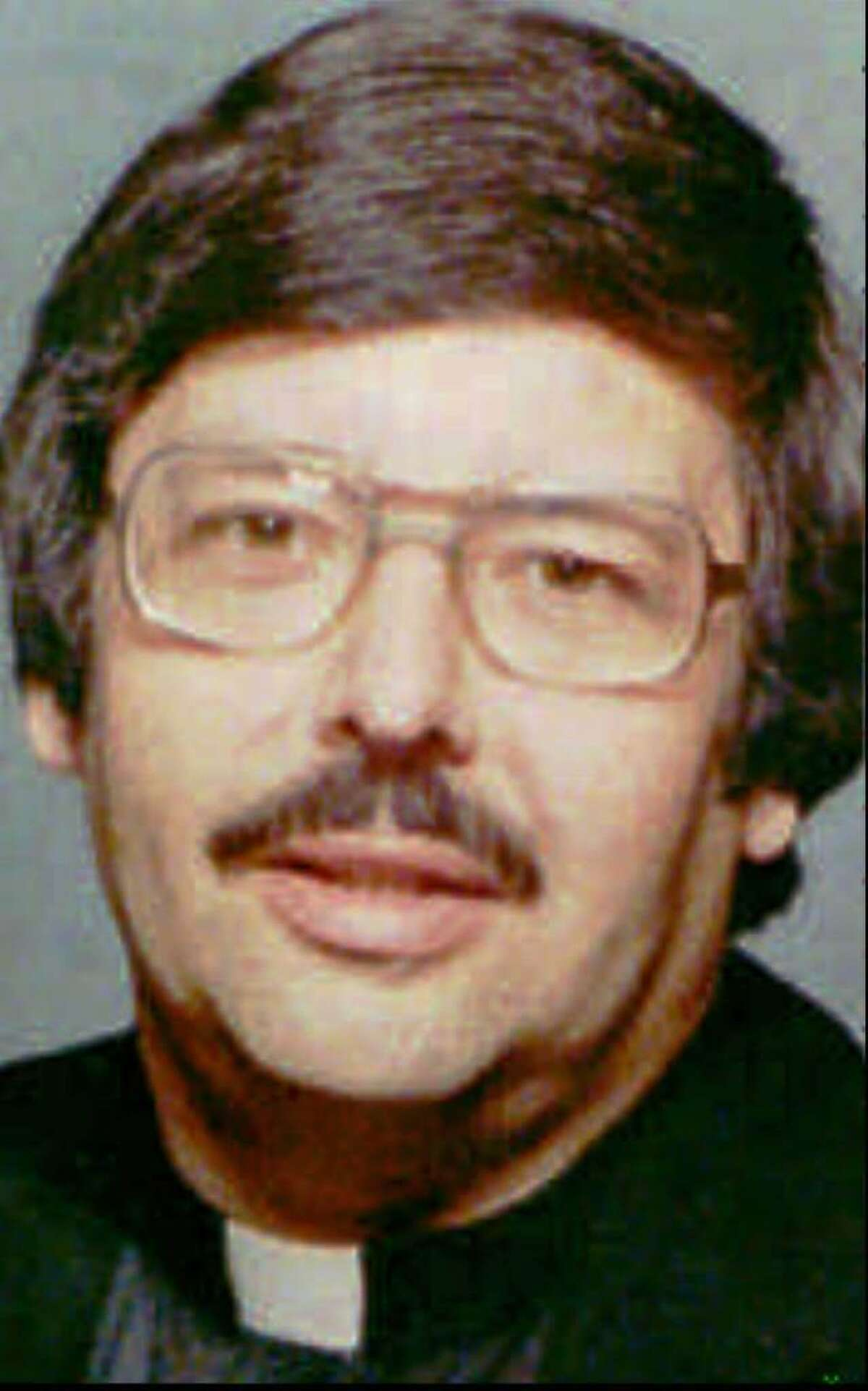 This is an undated file photo of the Rev. Raymond Pcolka, whose last assignment was as pastor of the Sacred Heart parish in the Byram section of Greenwich, Conn. In January 1993, 15 men and women filed civil lawsuits accusing Pcolka of sexually assaulting them when they were youngsters while he was an assistant pastor in Bridgeport and Stratford. Lawyers for the alleged victims and the Diocese of Bridgeport have been waging an intense, behind-the-scenes battle over what will be made public in the highly publicized case. (AP Photo/Connecticut Post, files)