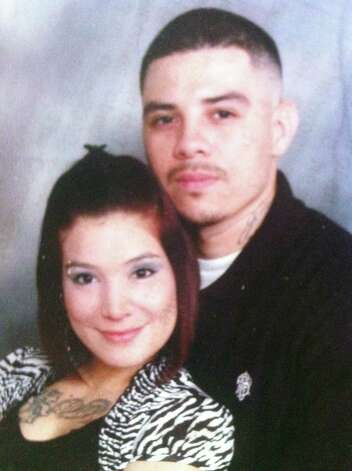 Sonny Guerrero, 28, was killed in a shooting that injured two others on the Southwest Side late Sunday. His fiance, Amy Ybarra, 24, is six months pregnant with the couple's daughter. Photo: Courtesy