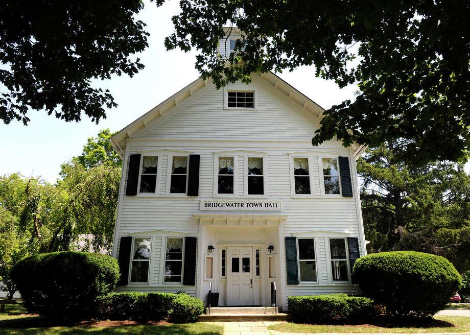 The Bridgewater Town Hall, Thursday, July 12, 2012. Photo: Carol Kaliff / The News-Times