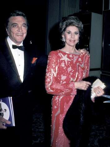 Tony Martin and Cyd Charisse during AFI Life Achievement Awards Honoring Gene Kelly at Beverly Hilton Hotel in Beverly Hills, CA, United States. (Jim Smeal / WireImage)