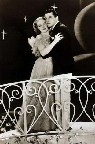 "Actors Alice Faye and Tony Martin in the film ""You Can't Have Everything."" Circa 1937. (Bob Thomas / Popperfoto/Getty Images)"