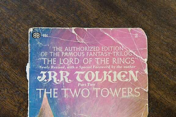 "Jim Fruchterman's copy of ""The Two Towers"" by J.R.R. Tolkien"