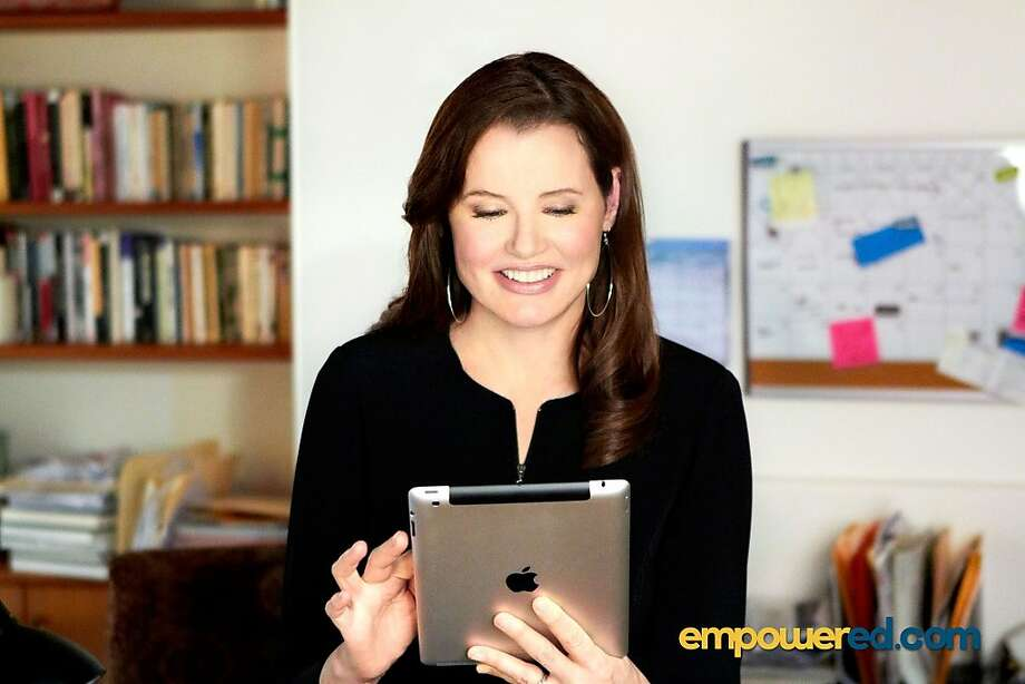 Geena Davis stars in an Empower Careers commercial. UCLA extension and Empower Career partners together to  announced a new scholarship program that provides financial aid to adults making a career change or re-entering the workforce. Photo: Empower Careers