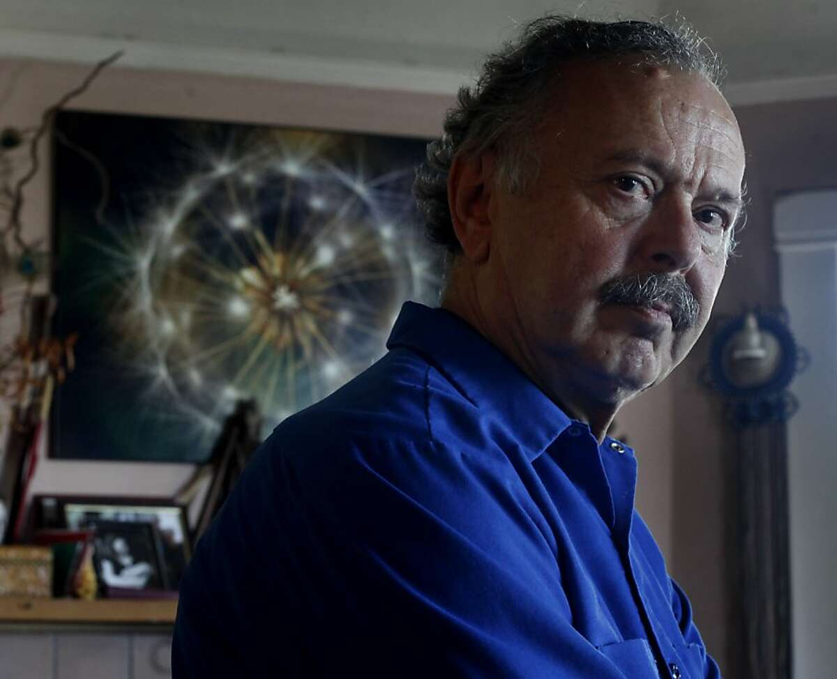 Richard Muller stands in his home, Monday July 30, 2012, in Berkeley, Calif. Formerly vocal skeptics of global warming he and his daughter Elizabeth are now releasing studies showing that humans are responsible of the warmup.