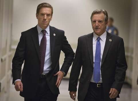 "Best actor in a television series, drama nominee:Damien Lewis, left, ""Homeland"" Photo: Kent Smith, Showtime"