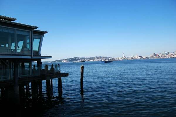 A culinary experience with a fantastic view? Look no further than Salty's on Alki where you can enjoy surf and turf while gazing over Elliott Bay. 1936 Harbor Ave SW, Seattle 98126 (Rachel Reed / SEATTLEPI.COM)