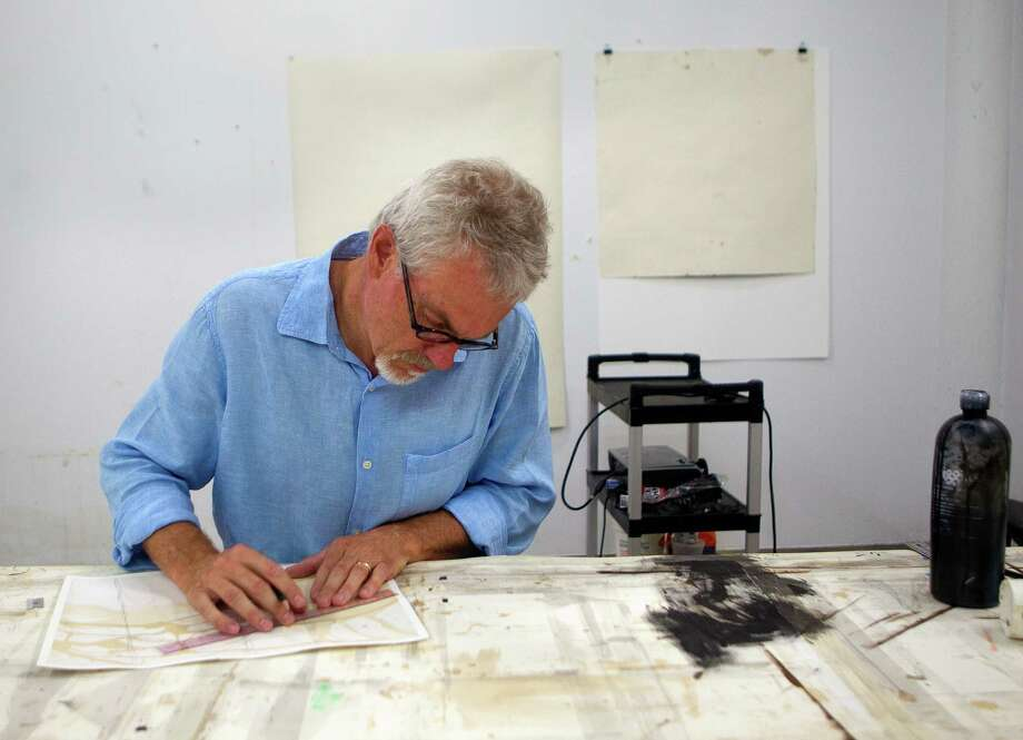 Printmaker Randy Twaddle showed the creative spirit when he applied to create Made in Houston, a nonprofit that would help the city's creative community network with its manufacturing infrastructure. Photo: Cody Duty / © 2011 Houston Chronicle