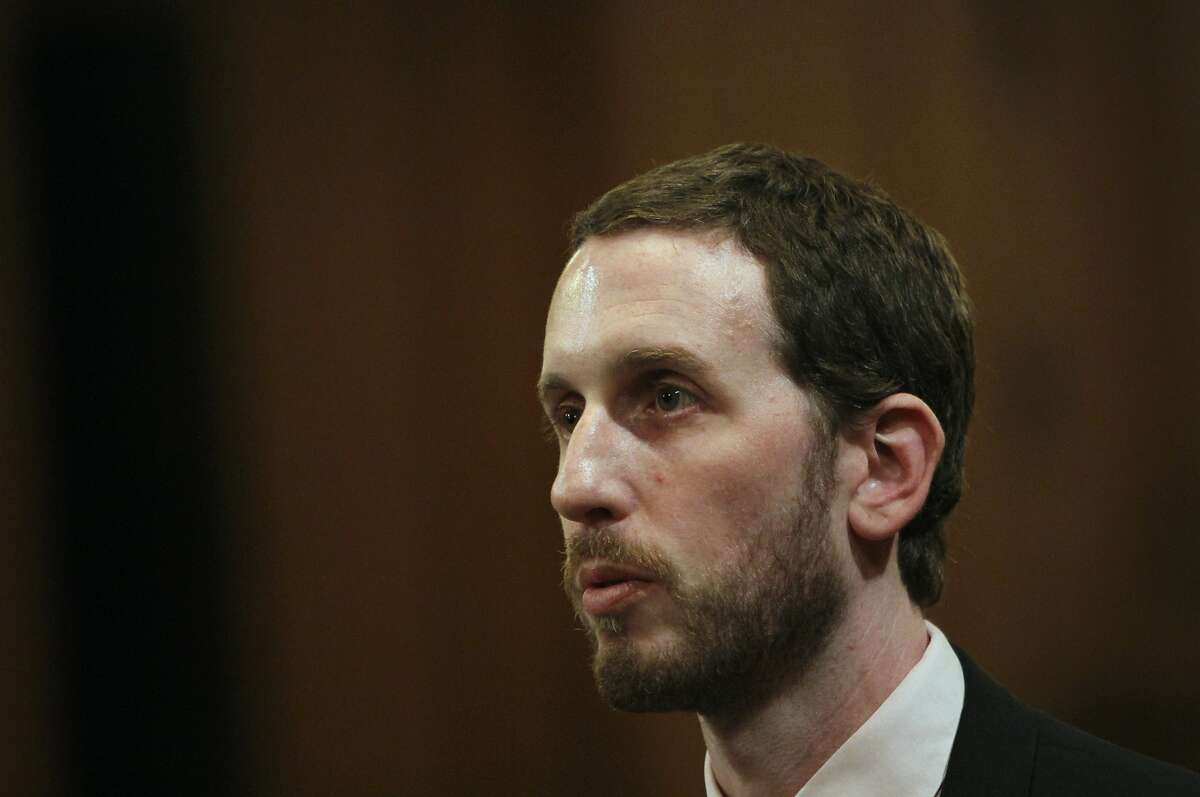 Supervisor Scott Wiener during the Board of Supervisors meeting in San Francisco, Calif., Tuesday, June 19, 2012.